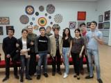 Студенты КБКТК на выставке Мухадина Кишева