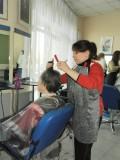 Практические занятия по парикмахерскому искусству