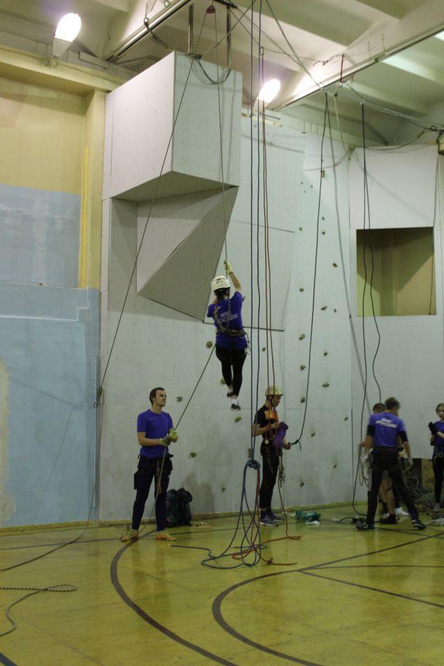 Тренировка корпуса спасателей