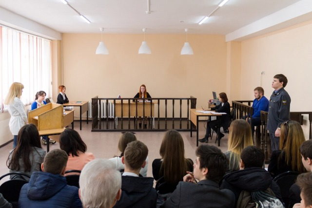 Практика-судебный процесс
