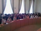 Студенты КБГТК в парламенте КБР.