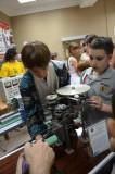 На выставке технического творчества студентов