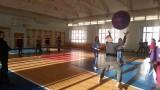 В спортивном зале