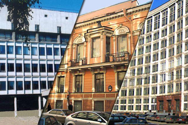 Фасады учебных площадок колледжа